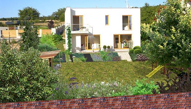 Zahrada s jasnou představou