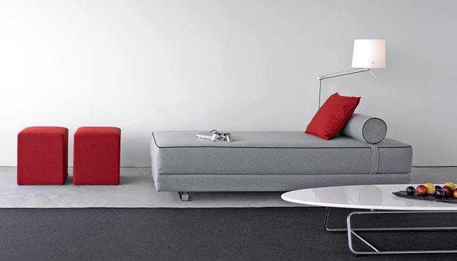 Vznešená a odpočinková chaise longue