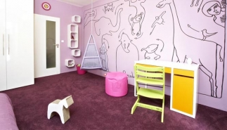 Zoo v dětském pokoji