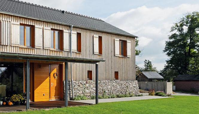Pohodlný moderní dům s dvojgaráží