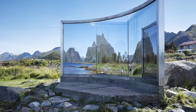 Umění a design uprostřed norské přírody
