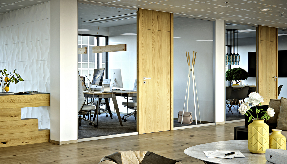 Dveře, okna, podlaha - interiér v souladu