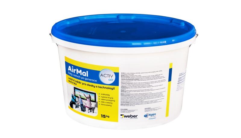 Povrchy: AirMal odbourává formaldehyd