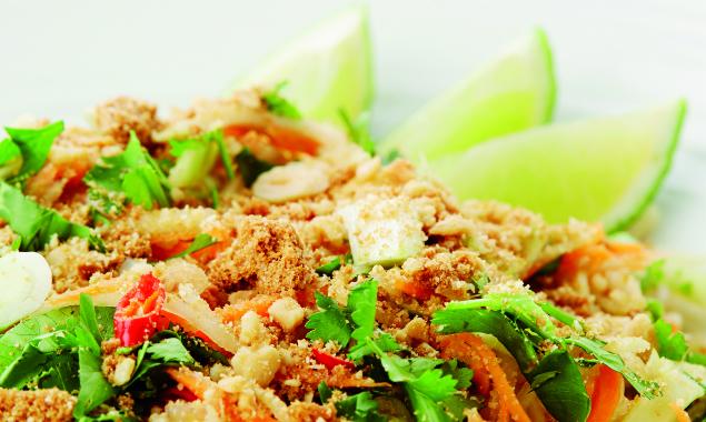 Pikantní papájový salát