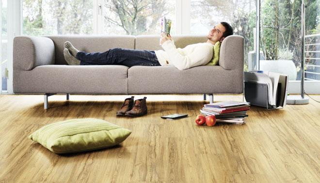 Čistá organická podlaha pro váš domov