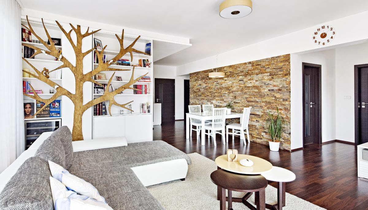 Interiér: Prakticky útulný domov