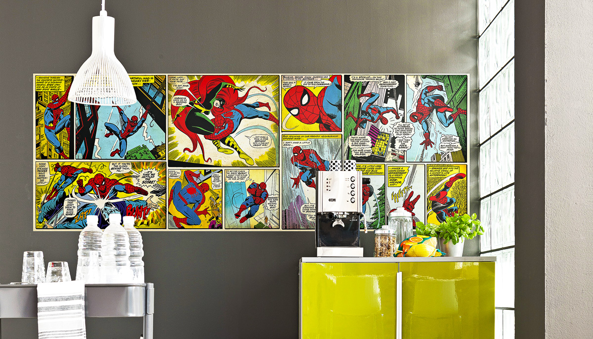 Styl: Komiks v interiéru
