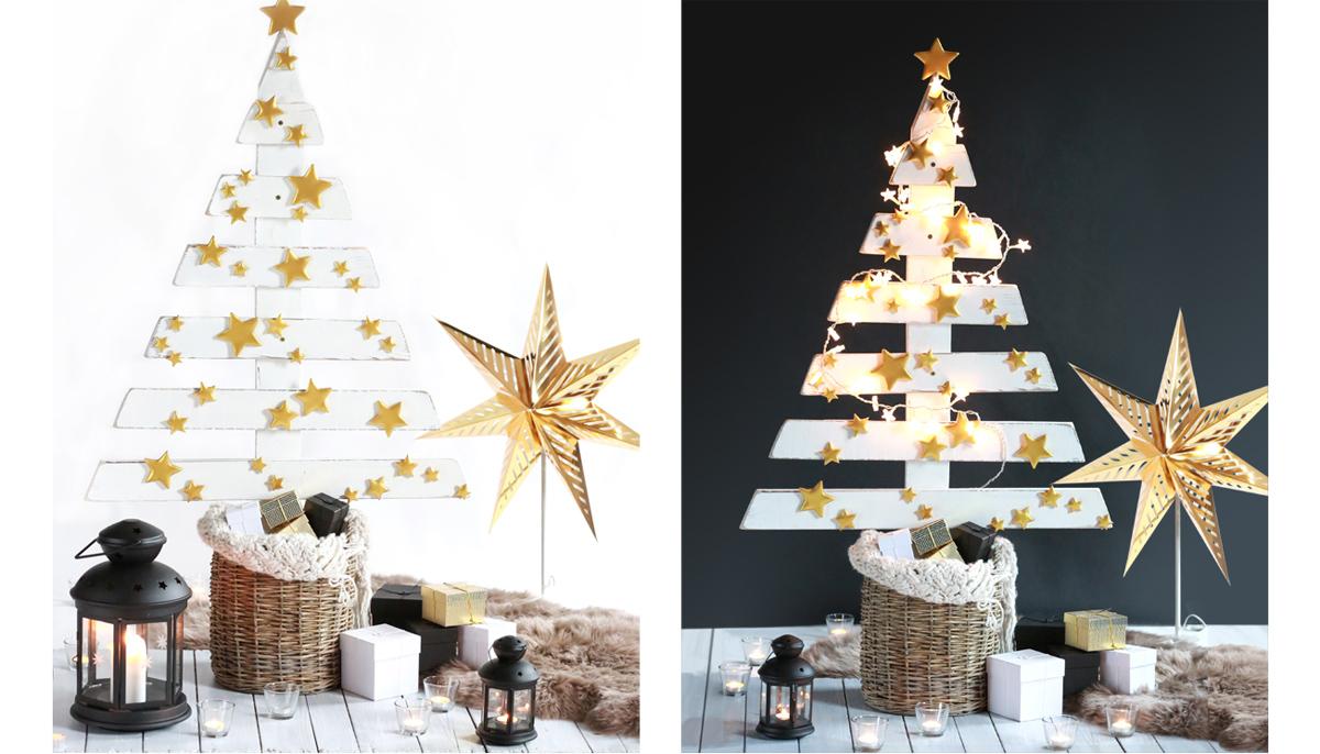Návod: Vánoční stromeček z palet