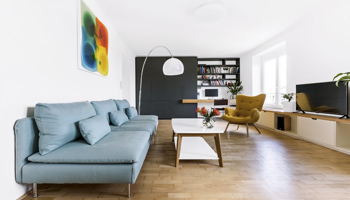 Interiér: První byt na věčné časy