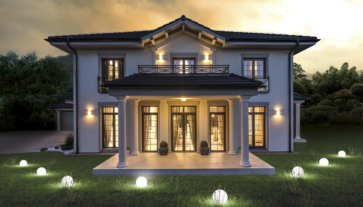 Variace na typový dům: Království luxusu