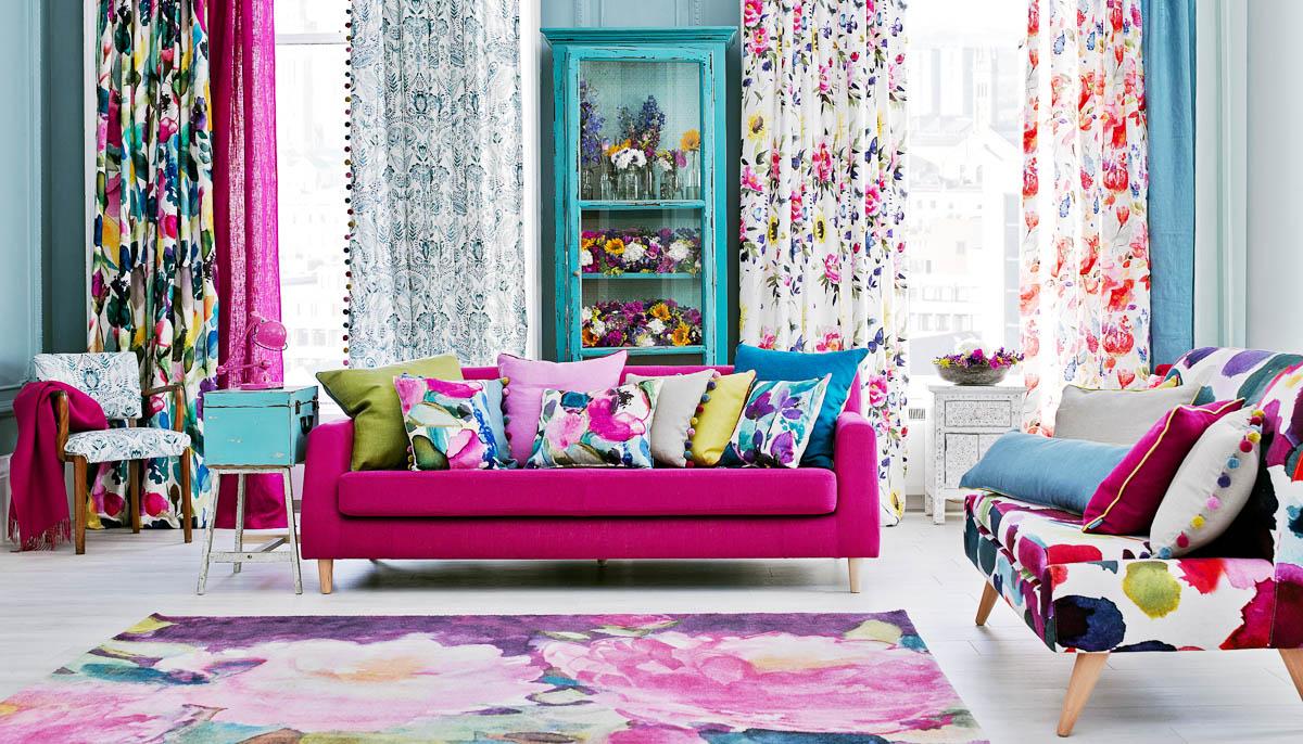 Proměna interiéru textilem