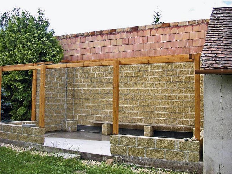 Opěrná zeď stavební povolení