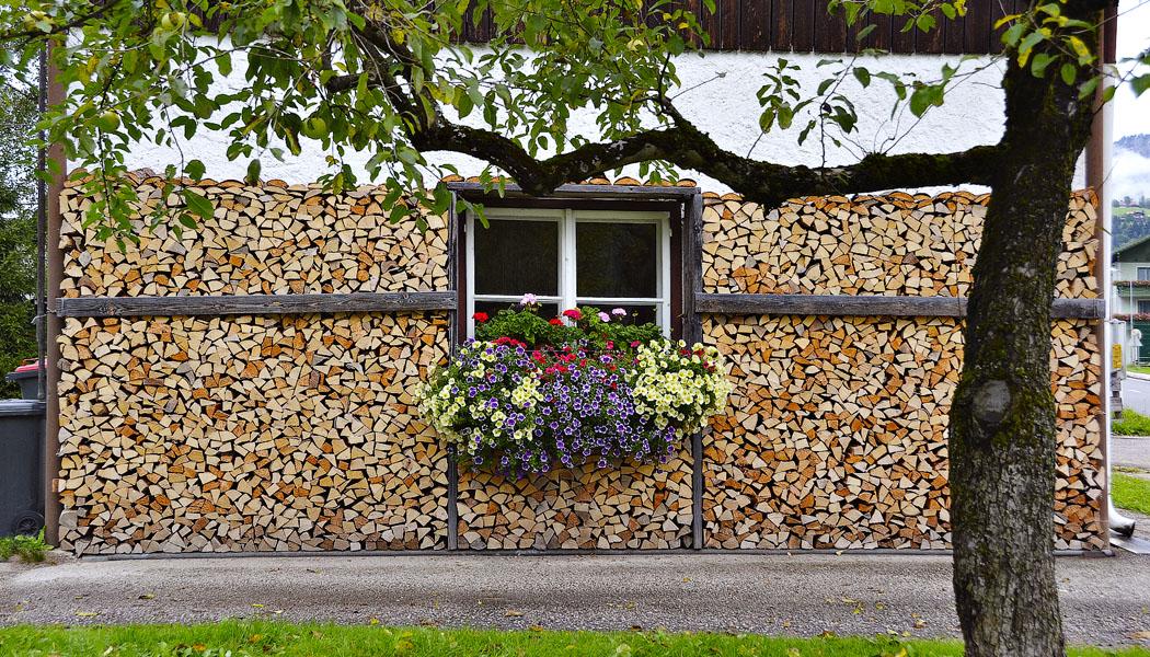 10x uskladnění dřeva na zimu