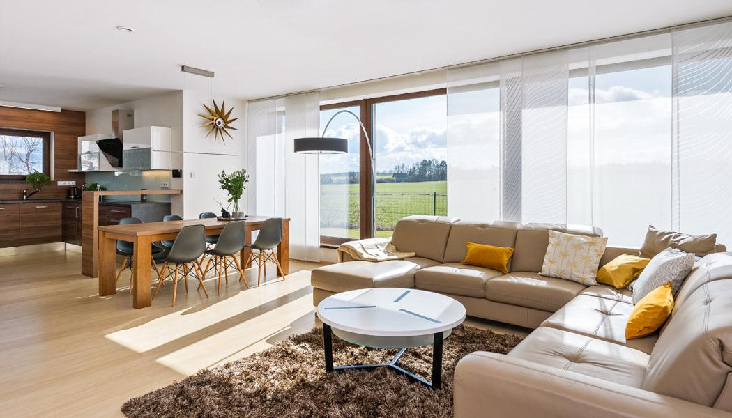 Interiér: Bydlení s výhledem do přírody