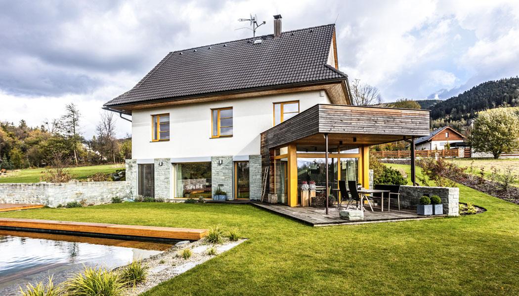 Rodinný dům v malebné krajině
