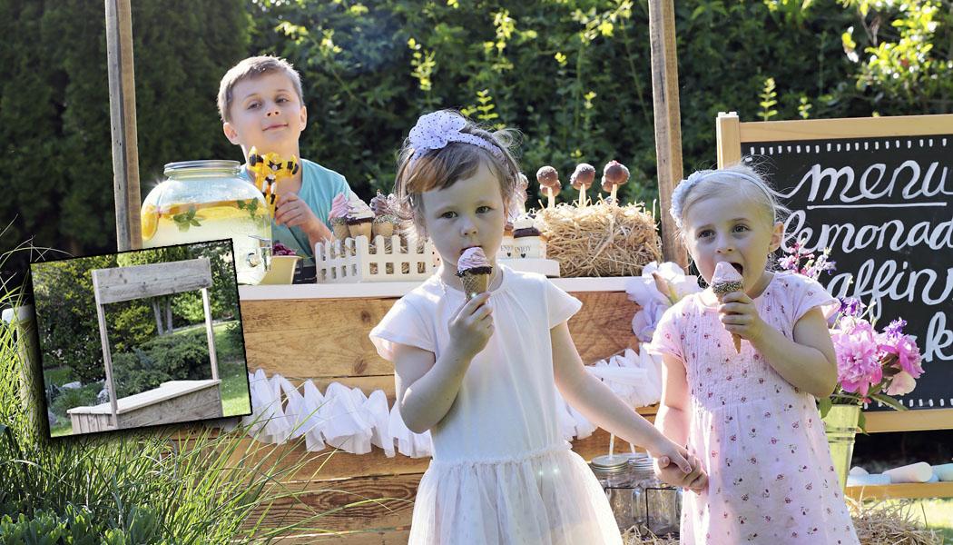 NÁVOD: Pult na zahradní oslavu