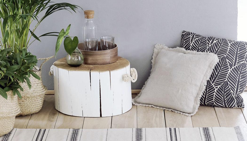NÁVOD: Originální stolek z dřevěného špalku