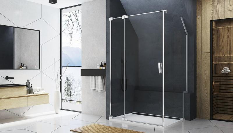 PORADNA: Atypické řešení sprchového koutu