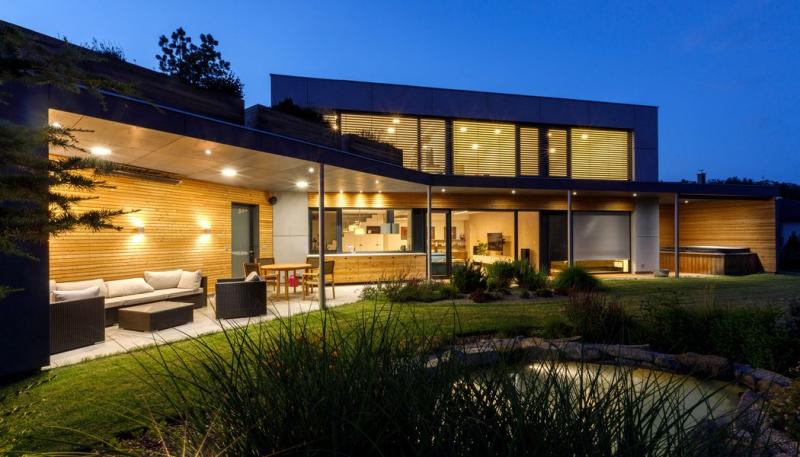 I prosklený dům může být pasivní a získat dotace Zelená úsporám