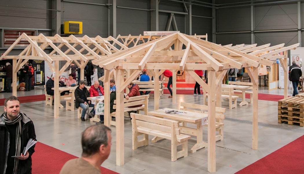 Na veletrh střech, nářadí a dřeva do pražských Letňan