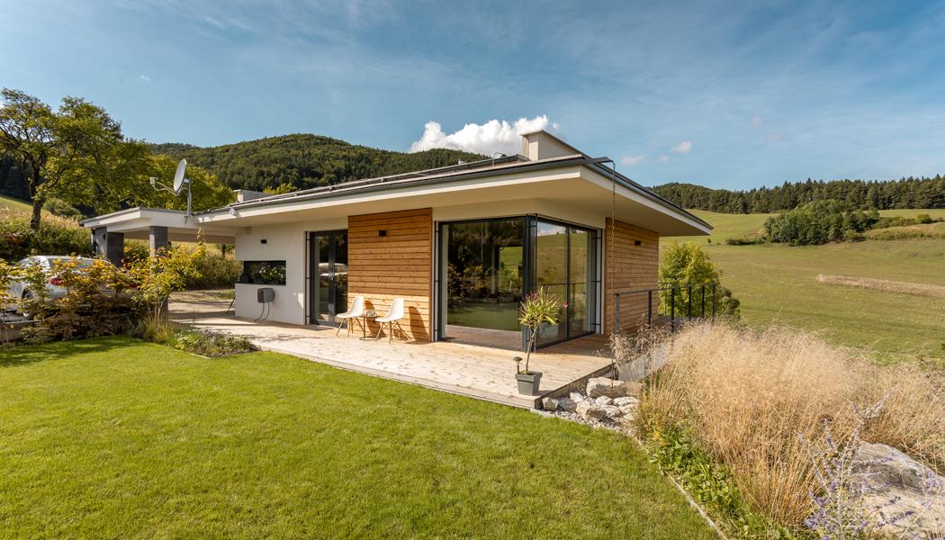 Dům v objetí přírody