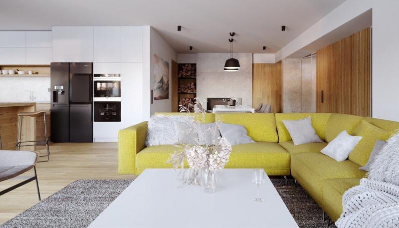 Moderní interiér inspirovaný Šumavou
